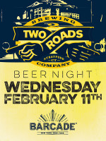 Two Roads Brewing Company Night — February 11, 2015 at Barcade® in New York, NY