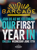 Barcade® New York 1st Anniversary Party — June 17, 2015 at Barcade® in New York, NY