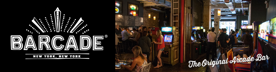 Barcade® - The Original Arcade Bar — New York, New York