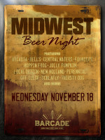 Midwest Beer Night — November 18, 2015 at Barcade® in New York, New York