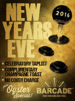 Barcade New Year's Eve Party — December 31, 2015 in New York, NY
