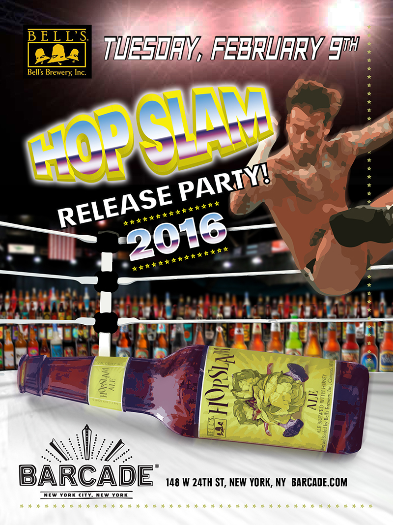 Hopslam Release Party!