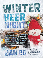 Winter Beer Night — January 20, 2016 at Barcade® in New York, NY