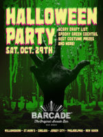 Barcade Halloween Party — October 29, 2016 at Barcade® in New York, NY