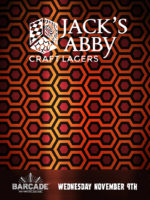 Jack's AbbyCraft Lagers Night — November 9, 2016 at Barcade® in New York, NY