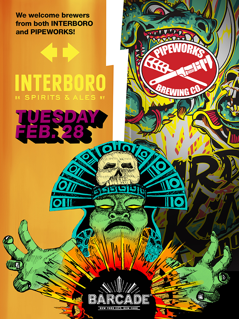 Interboro & Pipeworks Beer Night!!!