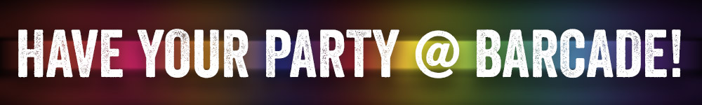 Have Your Party At Barcade® | Contact us for more information