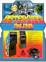 Asteroids Deluxe — 1981 at Barcade® in New York, NY