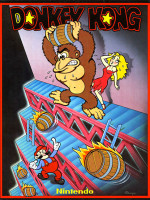 Donkey Kong — 1981 at Barcade® in New York, NY