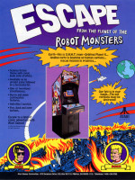Escape From The Planet Of The Robot Monsters — 1989 at Barcade® in New York, NY
