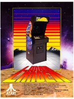 Lunar Lander — 1979 at Barcade® in New York, NY | Arcade Video Game Flyer