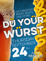 Dü Yoür Würst Oktoberfest — September 24, 2015 at Barcade® in New York, New York
