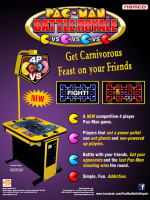 Pac-Man Battle Royale — 2011 at Barcade® in New York, NY