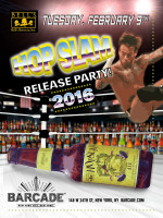 Bell's Hop Slam Release 2016 — February 9, 2016 at Barcade® in New York, New York