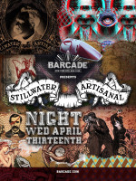 Stillwater Artisanal Night — April 13, 2016 at Barcade® in New York, NY