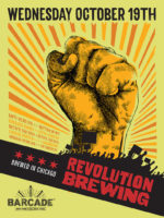 Revolution Brewing Night — October 19, 2016 at Barcade® in New York, NY