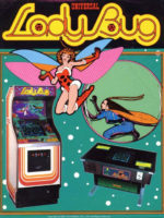 Lady Bug — 1981 at Barcade® in New York, New York | arcade video game