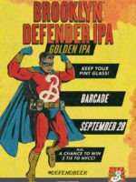 Brooklyn Defender Pint Night — September 28, 2017 at Barcade® in New York, N.Y.