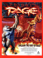 Primal Rage — 1994 at Barcade® in New York, NY | arcade video game