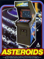Asteroids – 1979 at Barcade® in New York, NY | arcade video game
