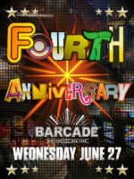 4th Anniversary — June 27, 2018 at Barcade® in New York, NY