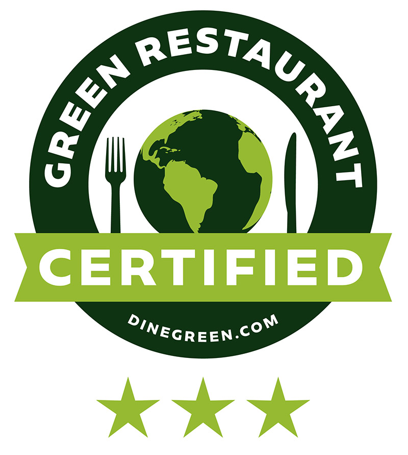 DineGreen Certified — 3 Star Green Restaurant - Barcade® in New York, NY