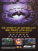 Batman Forever — 1996 at Barcade® in New York, NY | arcade video game