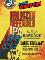 Brooklyn Defender Pint Night — September 26, 2018 at Barcade in New York, NY