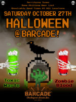 Barcade® Halloween — October 27, 2018 at Barcade in New York, NY