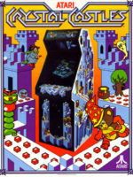 Crystal Castles — 1983 at Barcade®in New York, NY | arcade video game flyer graphic