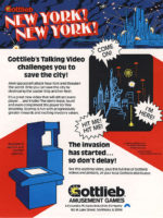 New York! New York! — 1980 at Barcade®in New York, NY | arcade video game flyer graphic