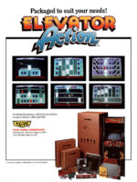Elevator Action — 1983 at Barcade® in New York, NY | arcade video game flyer graphic