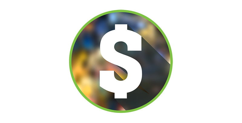 Barcade Eco-Friendly Icon | Money Savings