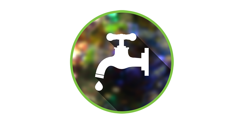 Barcade Eco-Friendly Icon | Water Savings