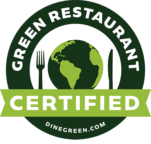 Barcade | Green Restaurant Association Certified Logo | Dinegreen.com