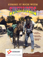 Sunset Riders — 1991 at Barcade® in New York, NY | arcade video game flyer graphic