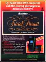 Trivial Pursuit — 1984 at Barcade® in New York, NY | arcade video game flyer graphic