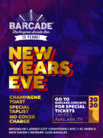 New Years Eve at Barcade on Tuesday, December 31st 2019 in New York, NY