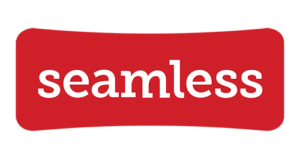Seamless logo / Barcade Seamless delivery link