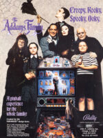 The Addams Family (pinball) — 1992 at Barcade®in New York, NY | arcade game flyer graphic
