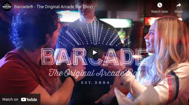 Barcade® You Tube Commercial Link Image