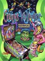 Cirqus Voltaire (pinball) — 1997 at Barcade® in New York, NY | arcade game flyer graphic